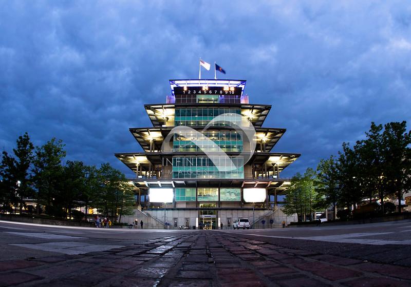 May 24, 2015: Indianapolis Motor Speedway Pagoda