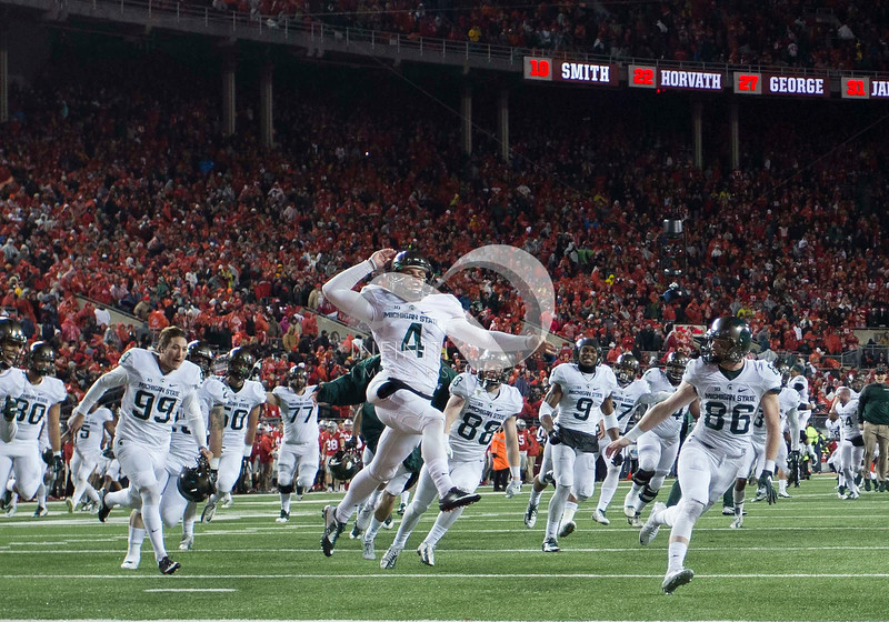 NCAA FOOTBALL: NOV 21 Michigan State at Ohio State