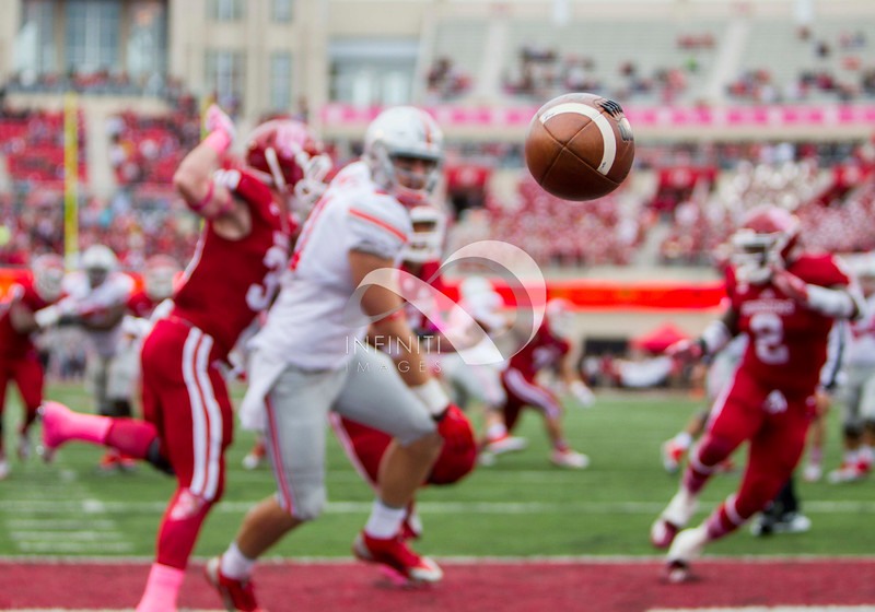October 3, 2015: CFB - Ohio State Buckeyes against the Indiana Hoosiers