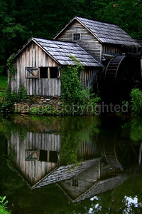 Mabry Mill with Reflection - 8/26/06