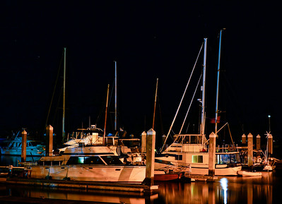 Downtown Fernandina Beach FL marina.
