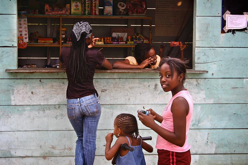 Hopkins, Garifuna district, Belize, 2006 © Copyrights Michel Botman Photography