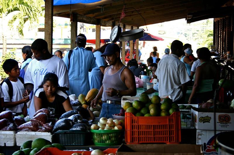 Belmopan market, Belize, 2006 © Copyrights Michel Botman Photography