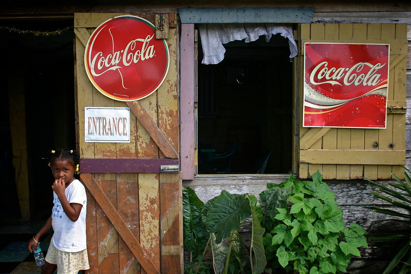 West highway to San Ignacio, Belize, 2006 © Copyrights Michel Botman Photography