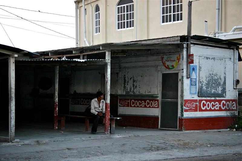 Bus station, Corozal, Belize, 2006 © Copyrights Michel Botman Photography