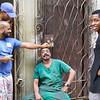 Barbero de la calle