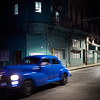 Escena Nocturna Azul