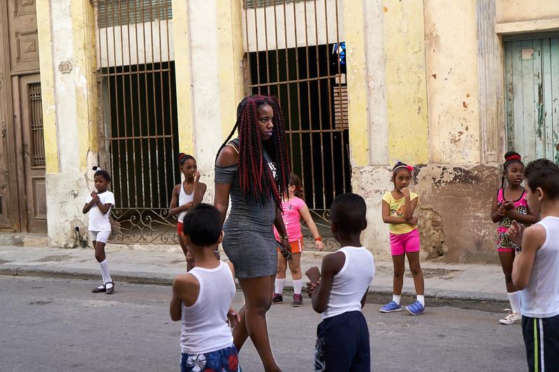 Maestra de la calle