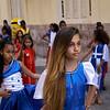 Desfile de colegialas