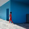 Azul y Roja