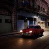 Escena Nocturna Rojo