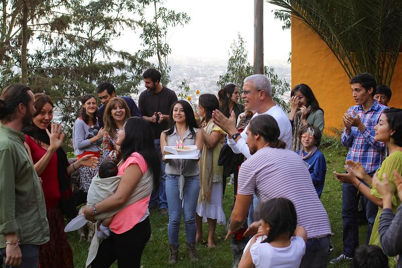 Satya's birthday at Casa Kiliku, Ecuador, Tumbaco, 2014 © Copyrights Michel Botman Photography