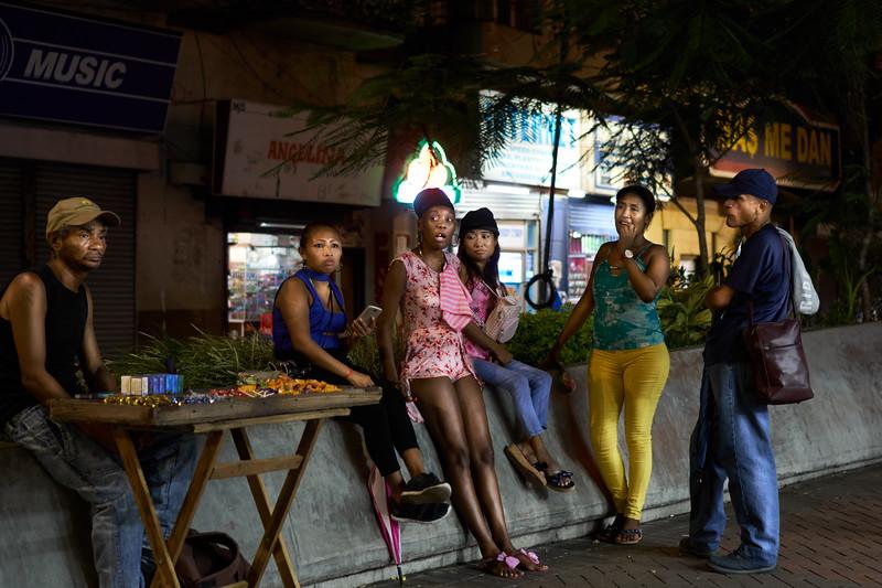 Chicas de la noche