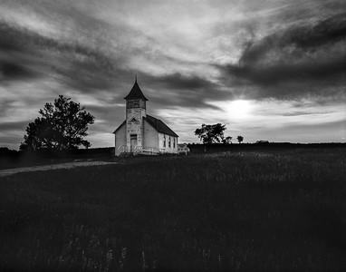 Buffalo Lake Church near Eden, South Dakota
