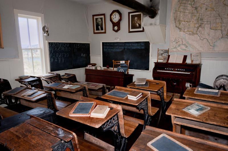 Pioneer classroom