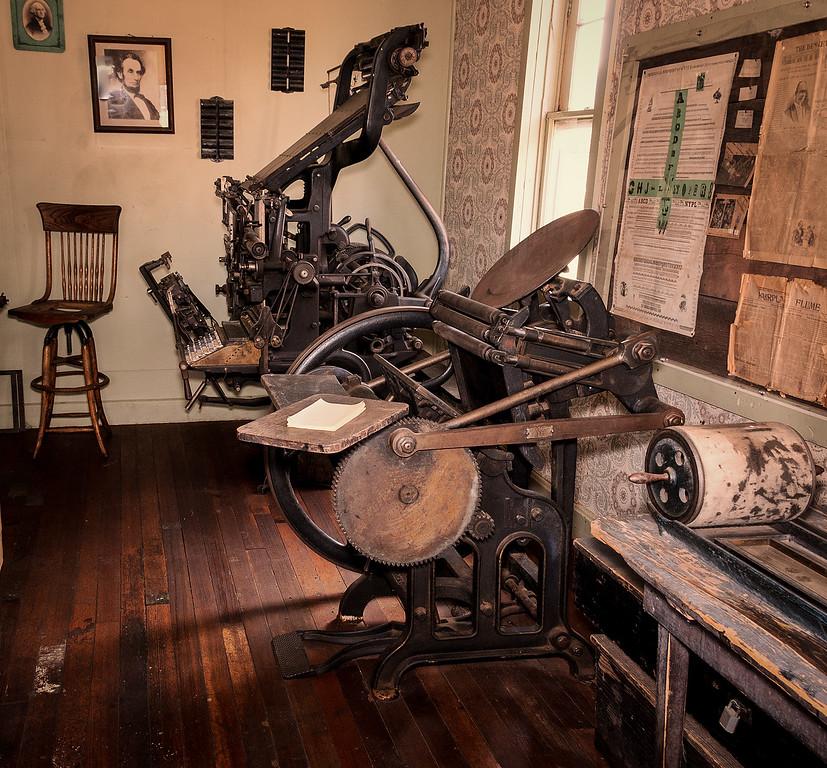 10 x15 platen Letterpress circa 1895