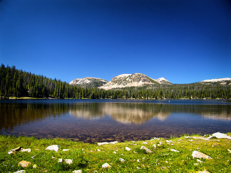 Mirror Lake: near Park City, Utah (USA)