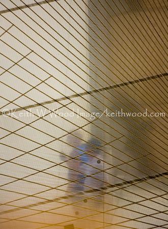 Sailors behind a kevlar sail