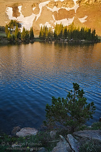 Sunrise at Horseshoe Lake, Pecos Wilderness, New Mexico, June 2012.