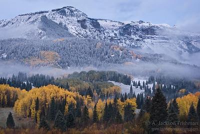 Autumn morning in Colorado's Chama Basin, October 2010.