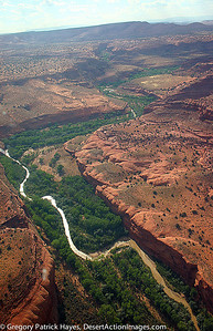 Okay so this isn't from 38K. These images from a lower Altitude are Possible due to a friend, Paul Bomar. The Escalante River makes its' way to Lake Powell carving this Canyon out of the Desert floor.