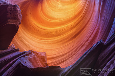 """LUMINOUS PASSAGE""Slot Canyon, AZReflected light creates rich color and deep hues to the winding sandstone in a remote slot canyon of Arizona.© Chris Moore - Exploring Light PhotographyPURCHASE A PRINT"