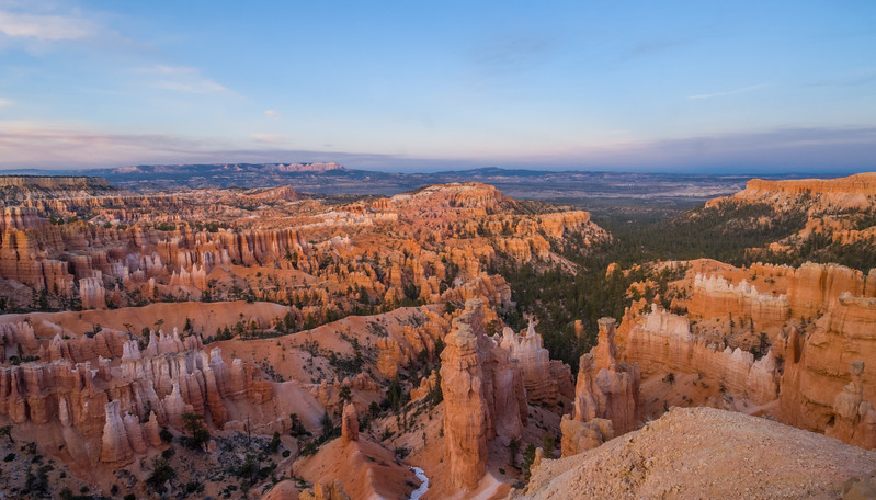 Sunset Bryce Canyon National Park, Utah