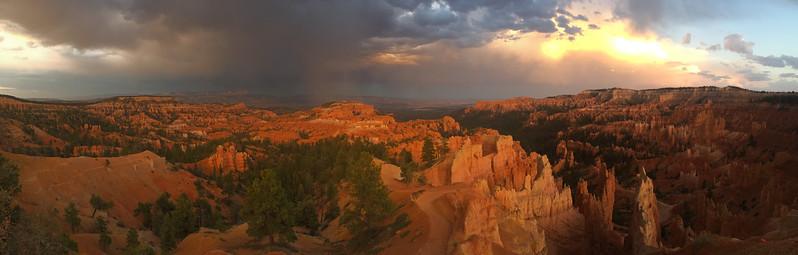 Panoramic Bryce Canyon, Utah