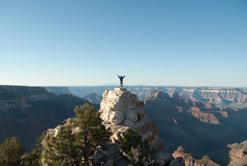Greeting The Day, Grand Canyon, Arizona