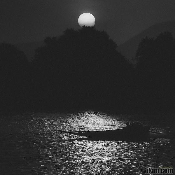 Nocturne, Presto<br /> River Kwai, Kanchanaburi, Thailand