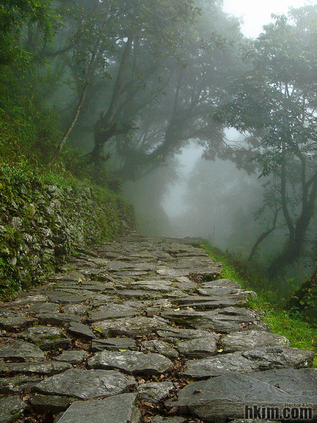 Stepping into the Clouds<br /> Annapurna, Nepal