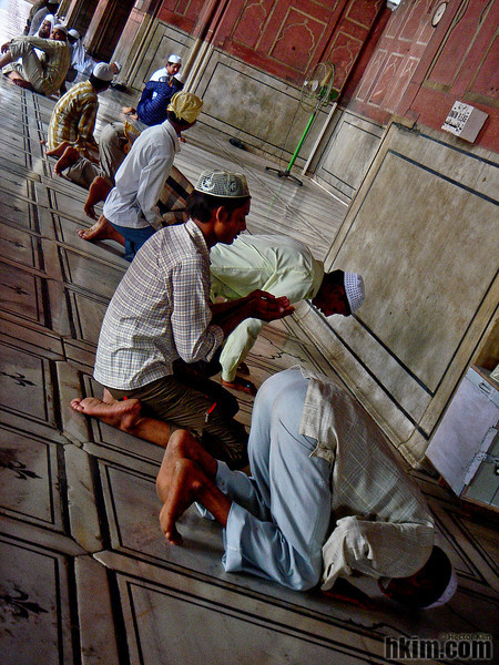 Prayers<br /> Delhi, India