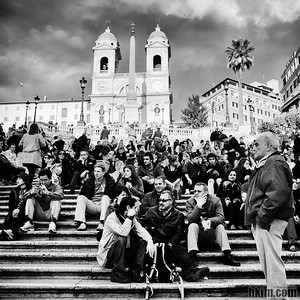 Collectivity Spanish Steps, Rome, Italy