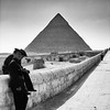 Policemen and the Tomb<br /> Giza, Egypt
