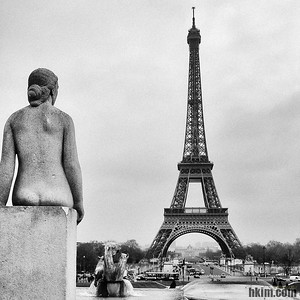 The Tower and a Viewer Paris, France