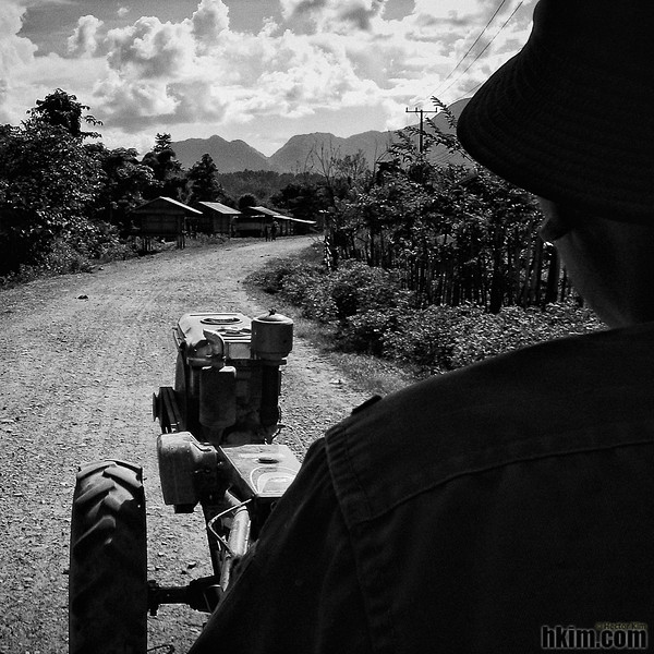 Tractor Taxi<br /> Laos