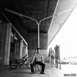 The Man Under the Bridge Bangkok, Thailand