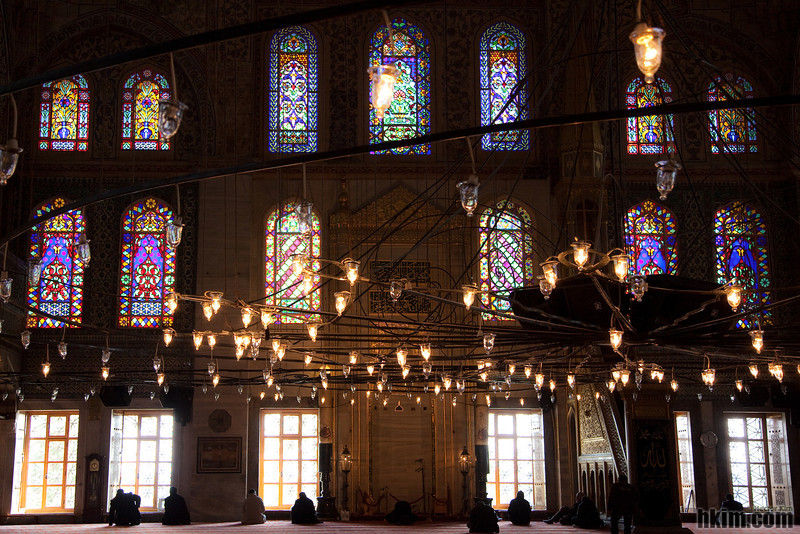 The Mosaics of Sultan Ahmed Mosque (AKA: Blue Mosque)<br /> Istanbul, Turkey