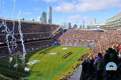 USA v. All Blacks match at Soldier Field, Chicago, IL