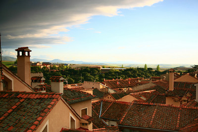 Rooftops of Segovia.
