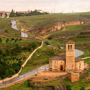 Near Segovia.
