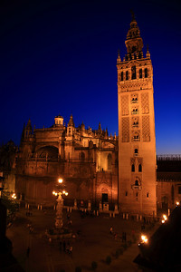 Seville's cathedral, the largest Gothic cathedral in the world.