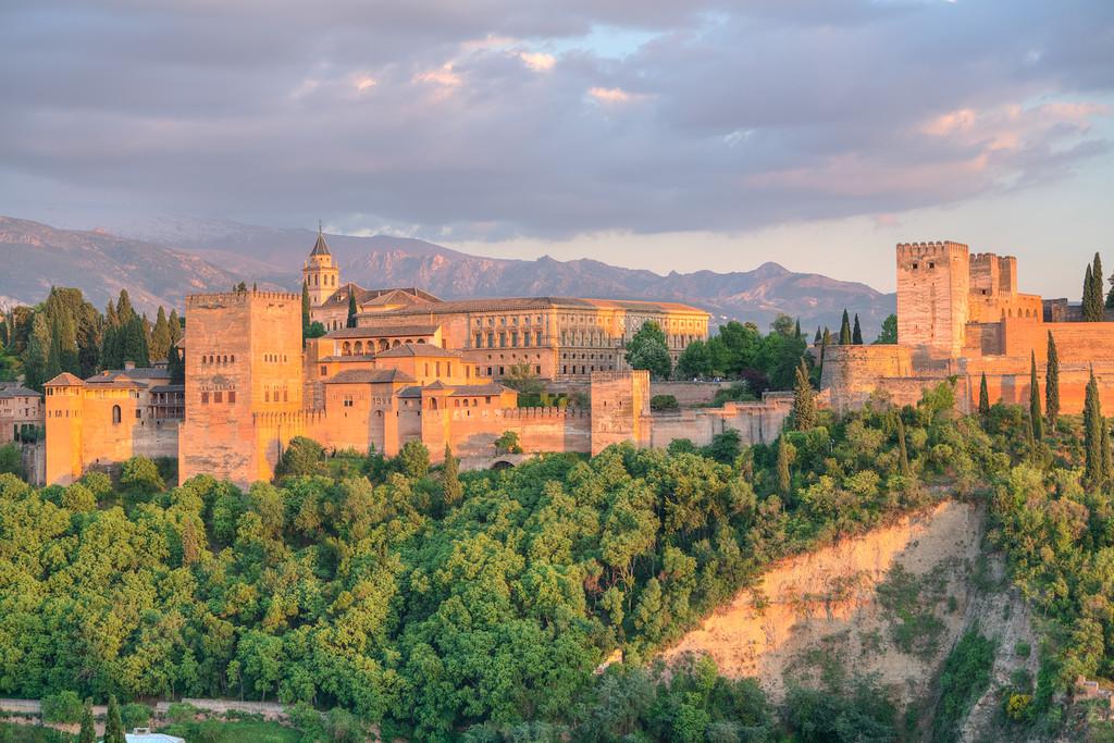 Alhambra in Orange    Granada, Spain