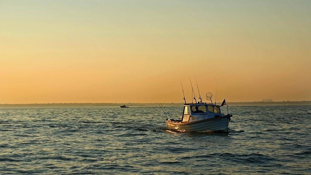 Great South Bay fishing boat