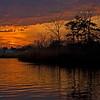 Sunset Over Island