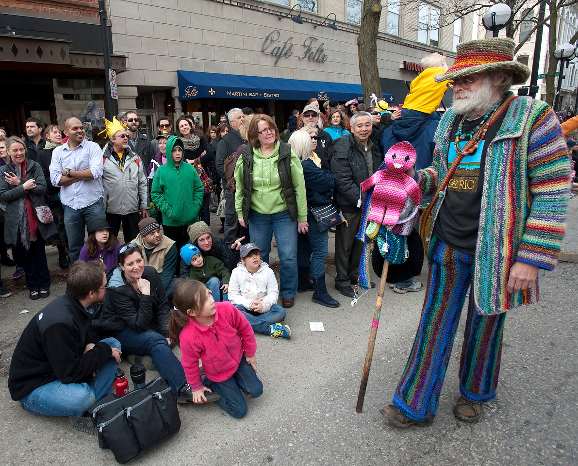 Festifools Parade in Ann Arbor