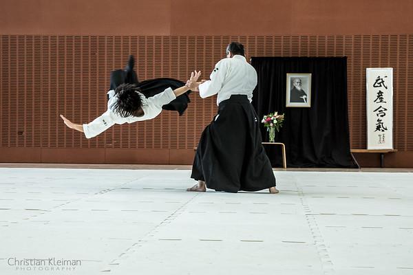 Nobuo Takase Shihan - 48th Anniversary Aikido Shinryukan