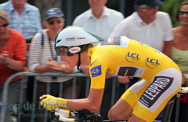 July 2011 Tour de France Grenoble Andy Schleck 1