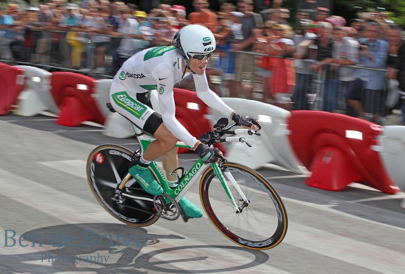 July 2011 Tour de France Grenoble Rider 9