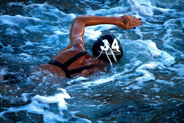 Race Number 107, Swim Cap 34 - Fiona M.